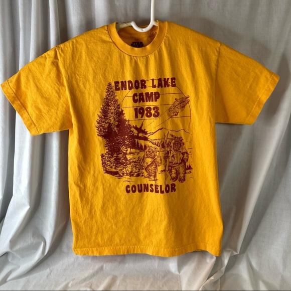 Star Wars Endor Lake Camp Counselor T Shirt Ewoks